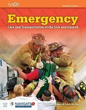 Emergency Care and Transportation of the Sick and Injured (Orange Book) by Am…