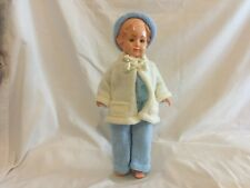 kader doll 15.5 inch,  sleep eyes and plastic small lashes comes without stand