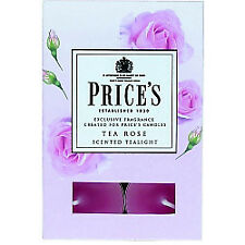 Scented Tealights Tea Rose X 6 Pft011008