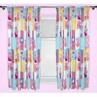 "PEPPA PIG NAUTICAL CURTAINS 66"" x 54"" DROP KIDS BEDROOM NEW FREE P+P"