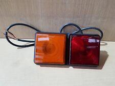 Rubbolite Ifor Williams Trailer M312/01/24 Horsebox Complete PreWired Rear Light