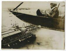 Eric Gordon England - Pioneering English Aviator - Early 1900s Press Photograph