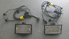 1984-1996; C4; Glass Lens Under Hood Lamp Light; PAIR; USED Corvette