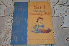 Singer Sewing Machine Co. ~ Illustrated Dress Making Guide Book ~ 1943