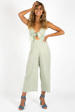 La Vie Boheme Say No More Culottes Jumpsuit. Size 8