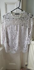 Zara Ladies Lace Top In Size 12