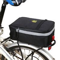 Bolsa de asiento posterior para bicicleta impermeable para bicicletas Hombro