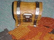 74 pcs Fortnite Building Materials Pieces Jazwares Lot Wood Steel Bricks + Chest