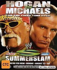 WWE - Summerslam 2005 (DVD, 2005) Hulk Hogan Shawn Michaels