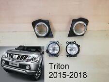 Mitsubishi NEW Triton L200 Fog Lamp Spot light SET Clear 2015-2018 Pickup