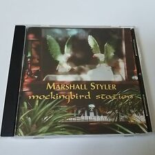 Marshall Styler Mockingbird Station Cd 1997 Autographed Cover Art Evangeline