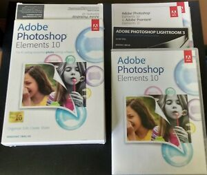 Adobe Photoshop Elements 10 for PC, Mac - New Open Box