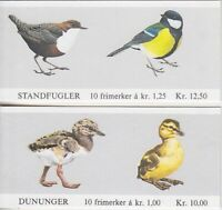 Norway MH 2, 3 2x Stamp Booklet, Bird, Ducks, Booklet, Mint, MNH