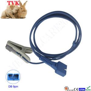 Bionet Veterinary Clip SpO2 Sensor For BM3VET, DB 9pin, Compatible Sensor