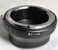 Nikon F Lens  (Ai, Ai-s) to Nikon 1 camera Mount adapter Ring  V2 J2 J4 S2 AW1