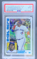 Vladimir Guerrero Jr. 2019 Topps Silver Pack 1984 Chrome Rookie PSA Mint 9