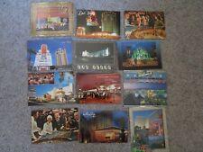 Vintage Lot of 12 Las Vegas Postcards Unused Sands MGM Sahara Aladdin Ballys