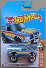 Hot Wheels 2017 34 of 365 Chevy Blazer 4x4 Hotwheels Hot Trucks - Carded