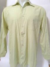 Men's Hugo Boss pastel green long sleeve button up dress shirt 16.5 32/33