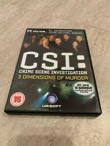 CSI: Crime Scene Investigation 3 Dimensions of Murder -  PC DVD-ROM, Ubisoft 15