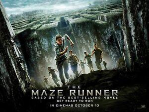 The Maze Runner. - Original UK QUAD Sheet Movie Poster.