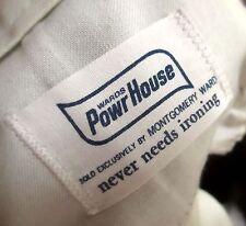 36x32 Fit True Vtg 70s Ward Powr House Green Work jeans Pants Relic