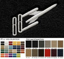 Lloyd Mats Oldsmobile Rocket 88 Custom Velourtex Front Floor Mats (1959-1999)