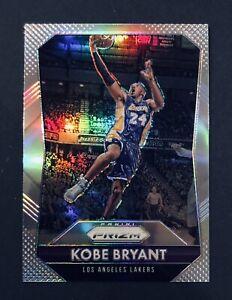 2015-16 Panini Prizm Silver Kobe Bryant Refractor #182 Final Season