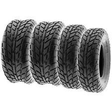 SunF 25x8-12 25x10-12  Sport ATV UTV Tires 6 PR Tubeless  A021 [Bundle]
