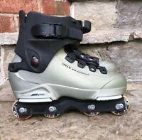 UFS Salomon ST80 Men's Aggressive Inline Skates Size 9.5 27/27.5 No Liner