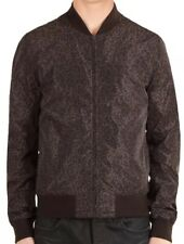 685339fc3b1 Men s Gucci Leopard Print Nylon Bomber Jacket Size 52