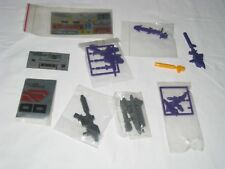 Unused G1 Hasbro Transformer Accessories and sticker sheets