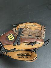"""wilson A0440 12 """" Monsta Web Fast Pitch Softball Glove"""