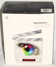 Apple Final Cut Pro 4.0.1 Retail M9038Z/A Video Editing Software ~ FREE Shipping