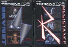 The Terminator CCG Starter Game Card Theme Decks 1 Resistance and 1 Skynet