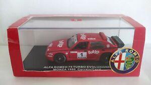 ALFA ROMEO 75 TURBO EVOLUZIONE M4 MODELCARS SCALA 1/43