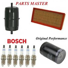 Tune Up Kit Air Oil Fuel Filters Spark Plugs For Jeep Wrangler L6;4.0L 2005-2006