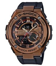 Casio GShock G-STEEL * GST210B-4A Rose Gold Steel Case Black Resin Ivanandsophia