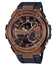 Casio GShock G-STEEL *GST210B-4A Rose Gold Steel Case Black Resin Ivanandsophia