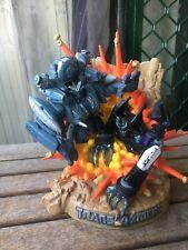 Rare Transformers Statue from 2007 Decepticons Blackout & Barricade