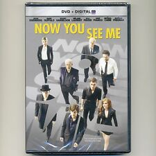 Now You See Me 2013 PG-13 heist thriller hit movie, new DVD Franco Caine Freeman