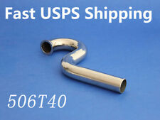 "RC boat Stainless steel Wrap to Center WTC header for gas Zenoah 7/8"" 22mm506T40"