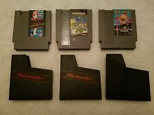 (3) NES Games Pac-Man/TMNT/Super Mario Bros./Duck Hunt (Pre-Owned)