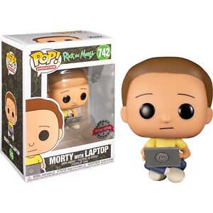 Rick and Morty Morty with Laptop #742 - New Funko POP! vinyl Figure (RS)