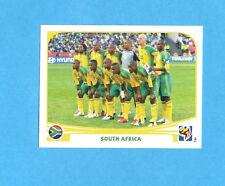 SOUTH/SUD AFRICA 2010-PANINI-Figurina n.30- TEAM SOUTH AFRICA -NEW BLACK BACK