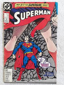 Superman #21 (Sep 1988, DC) Third Printing VG+
