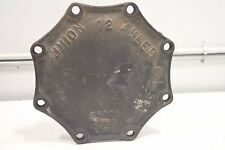 "Tyler Union 12"" Cast Iron Valve 8-Hole Heavy Duty Lid Cover Cap 350 DI C153"