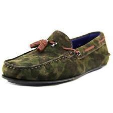 Scarpe da uomo verdi camoscio