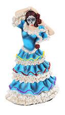 Day Of The Dead Dancer Dia de Los Muertos Blue DOD Catrina Saints Halloween