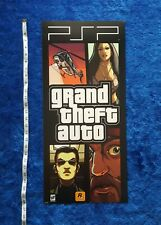 Grand Theft Auto PSP Store Display Poster PlayStation Rockstar Games GTA 2006